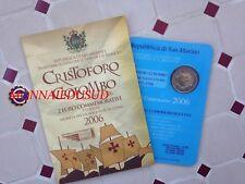 2 Euro CC BU Saint-Marin 2006 - Christophe Colomb