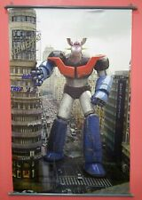 Mazinger Fabric Poster In The City.