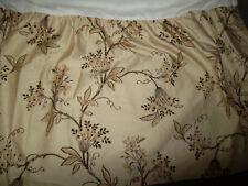 Ralph Lauren Plage D'or King Bed Skirt Split Corner Champagne Floral Beige