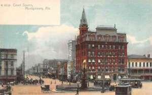 Montgomery Alabama Court Square Vintage Postcard AA35646