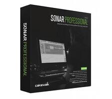 NEW Cakewalk Sonar Professional DAW + Addictive Drums Melodyne Essential PC