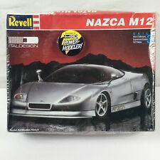 Revell-Monogram Italdesign Nazca M12 Skill 3 1:24 Scale Model Kit 1993 Sealed