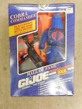 Vintage GI Joe Toy Cobra Commander Hall of Fame Figurine Original Box Packaging