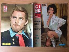 Ciné Revue n 10 1968 Pascale Petit Robert Shaw Linda Harrison Nancy Sinatra