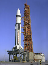 1/144 Apolo Saturn 1B AS-204 Apolo 5 Resina Escala Modelo Cohete Kit sin edificar
