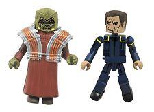 Star Trek Legacy Minimates Series 1 Enterprise Captain Archer & Xindi Dolim