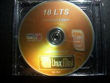 LINUX MINT 18.3 LTS 64-Bit Cinnamon Ed. LIVE/Install DVD(New Release)+Extras