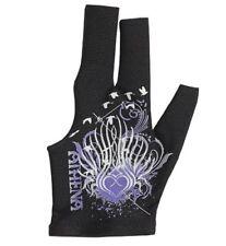 Athena Glove Tribal Heart Pool Billiards w/ Finger Openings - Left Hand Bridge