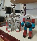 Vintage Hasbro Takara 1984 G1 Perceptor & 1985 G1 Hasbro Metroplex Transformers