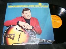 DON GIBSON All-Time Country Gold LP RCA Victor STEREO In Shrinkwrap 69 Orange Lb