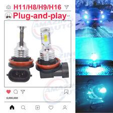2020 NEW H11 H8 H9 LED Headlights Bulbs Kit 50W 4560LM 8000K Blue Error Free