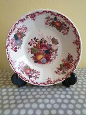 """Mason's Ironstone China Red """"Fruit Basket"""" Bowl"""