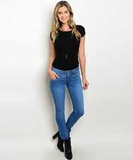 Para Stretch Mid Rise Skinny Blue Jeans / Size 15 / 114408
