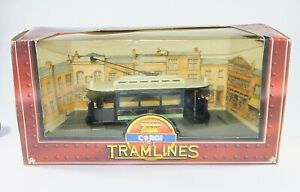 Corgi TRAMLINES C990/2 SHEFFIELD CORPORATION TRAMWAYS TRAM Single Decker Toy
