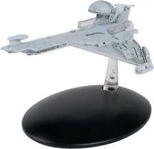 #142 Promellian Battle Cruiser Star Trek Eaglemoss UK Metal Ship-Mailed from USA