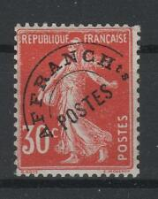 """FRANCE STAMP TIMBRE PREOBLITERE 58 """" SEMEUSE 30c ROUGE """" NEUF xx TB A VOIR P731"""