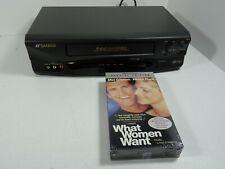 New listing Sansui Vhf6010D Vcr Vhs Video Cassette Recorder 4 Head No Remote -w/ new movie