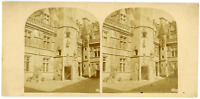 STEREO France, Paris, Musée Cluny Vintage stereo card -  Tirage albuminé  8,