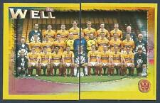PANINI SCOTTISH PREMIER LEAGUE 2000- #308/309-MOTHERWELL TEAM PHOTO