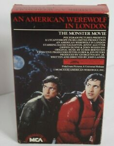 AN AMERICAN WEREWOLF IN LONDON BETA not VHS HORROR BETAMAX MCA Rainbow untested