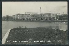 WI West Bend RPPC c.1930 WEST BEND ALUMINUM COMPANY Factory CARS No. 153