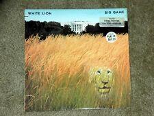 RARE White Lion Big Game Promo Vinyl  Record lp