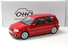1:18 OTTO VW Polo GTI 6N red 2001 NEW bei PREMIUM-MODELCARS