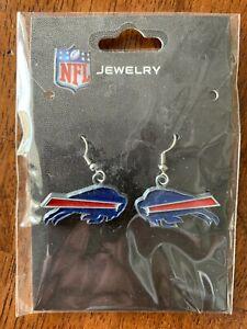 NFL Buffalo Bills Team Logo Earrings by Sisklyou Sports New