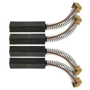 30x11x6mm Vacuum Cleaner Carbon Brush Fit for Miele S200 S300 S500  Pack of 4