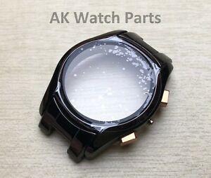 Ceramic Watch CASE/SHELL/HOUSING/DIAL Fits Emporio Armani AR1410 strap/bracelet