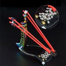 Powerful Hunting Slingshot Aluminum alloy Catapult Wrist Exercise with 200 Ball