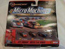 1999 Micro Machines Jeff Gordon Green Flag Series Winner's Circle NEW NASCAR