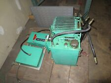 Parker Hydraulic Pump Unit With Motor Starter And Disconnect