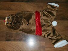 Medium Dog Reindeer Costume Outfit