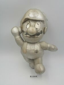 "Rare Super Mario Bros B1008 N64 Metal USED JUNK Banpresto 1996 Plush 7.5"" Toy"