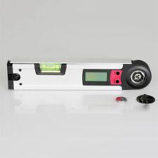 Digitaler Winkel Finder Meter Winkelmesser Doppeltes Wasserwaage 0~225° Maßband