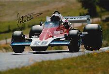 John Watson Firmato a Mano Foto 12x8 McLaren, BRABHAM f1 4.