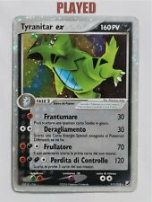 🍀Pokémon 111/115 Tyranitar ex ITALIANO PLAYED Set EX Forze Segrete Pokemon🍀