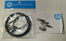 HP Keyed Cable Lock 10mm - New - T1A62AA