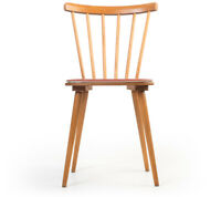 Küchen-Stuhl Buche Stäbchen-Lehne Fifties chair midcentury