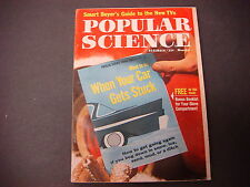 Popular Science Magazine,December 1960,Guide to New TV,When Your Car Gets Stuck