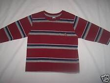 BABY GAP STRIPED 3/4 SLEEVED CREW NECK SHIRT SIZE 2 YRS