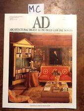 AD - N. 132 - MAGGIO 1992 - ARCHITECTURAL DIGEST LE PIU' BELLE CASE DEL MONDO