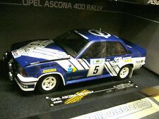OPEL Ascona B 400 Rallye Akropolis 1981 #5 Kleint Gr.4 WM RARE SST Sunstar 1:18