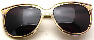 Vintage Sunglasses Park Lane Pathway USA Made Bifocals 135 Chestnut Transparent