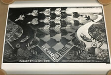 PEARL JAM SEATTLE HOME SHOWS 2018 POSTER: EMEK SOLD OUT SHOW EDITION. MC Escher