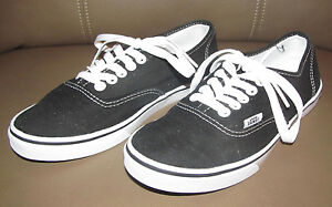 Vans Off The Wall Womens 6 Mens 4 1/2 Size 4.5 Shoes Flats Casual Black & White