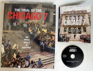 Netflix THE TRIAL OF THE CHICAGO 7 Promo DVD & Large Coffee Table Book RARE