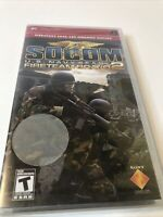 SOCOM: U.S. Navy SEALs -- Fireteam Bravo 2 (Sony PSP) Brand New Sealed