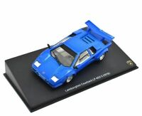 Lamborghini Countach LP 400 S Blue - 1978 1/43 Scale,